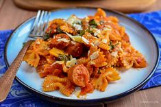 Sausage, Tomato and Spinach Pasta | Slimming World