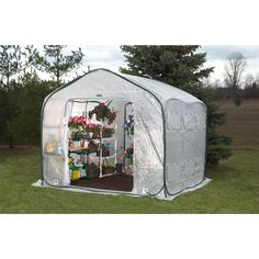Farm-House Home Garden UV Resistant Greenhouse (9' x 9') - Quality House