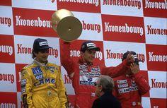 Ayrton Senna Vence GP San Marino 1988 + Reginaldo Leme Entrevista Senna,...