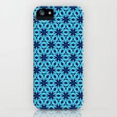 blue Knitting iPhone & iPod Case
