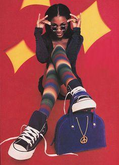 Seventeen Magazine September 1993. Had these tights...love #nostalgic flashback!