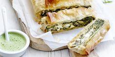Millefeuille, feta et épinards | Simply you