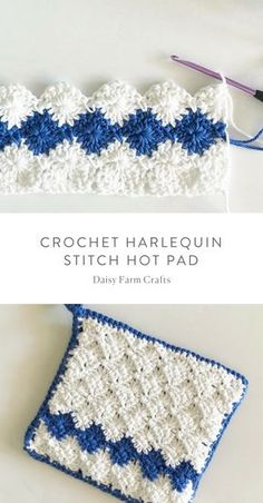 Free Pattern – Crochet Harlequin Stitch Hot Pad Free Pattern – Crochet Harlequin Stitch Hot Pad Related posts:Sidewalk Shawl Free Crochet Pattern -Kaffee-Smoothie: Wachmacher mit viel Undisputable Top Secrets to a Healthy Weight Ideas Crochet Potholder Patterns, Crochet Dishcloths, Crochet Edgings, Crochet Blankets, Crochet Gifts, Diy Crochet, Crochet Owls, Crochet Animals, Crochet Hot Pads