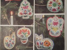 Vogue 1745 One Size St Nick Knacks Christmas Decor Ornaments Stockings 1970s by SewingWithDawn on Etsy