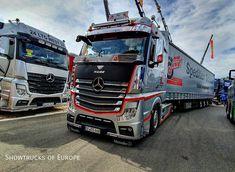 Mercedes Benz Trucks, Techno, Tractors, Mp5, Instagram, Farming, Vehicles, Truck, Car