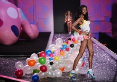 Victoria's Secret. Skirt out of balloons.