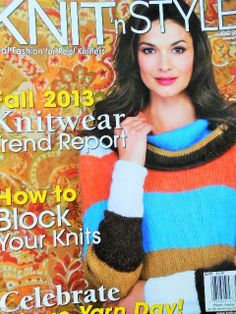 KNIT N STYLE Oct 2013 Magazine