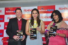 #HumaQureshi launches Reliance Digital #Filmfare Calendar 2015  More Stills @ http://kalakkalcinema.com/huma-qureshi-launches-reliance-digital-filmfare-calendar-2015/
