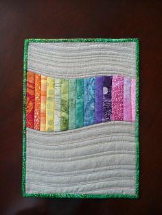 Pretty modern quilt