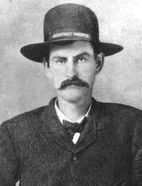 """Mysterious Dave' Mather, was both a lawman and gunfighter in the Old West. Little is known today of Mather's life; the gaps in his personal history and his taciturn personality may have been what earned him the sobriquet """"Mysterious Dave."""" Historical records show that he was a lawman in Dodge City, Kansas, and Las Vegas, New Mexico, and was a frequent associate of Bat Masterson and Wyatt Earp."""