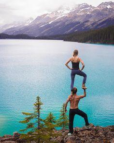 "6,160 Me gusta, 82 comentarios - Nicholas Coolridge (@moderntarzan) en Instagram: ""Nature are you serious!?!! #banffnationalpark . I know what you thinking, ""that lake cannot…"""