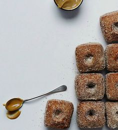 Apple Cider Doughnuts | Recipe from Glazed, Filled, Sugared & Dipped: Easy Doughnut Recipes to Fry or Bake at Home Stephen Collucci