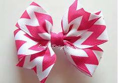 chevron Hair Bows - Bing Images
