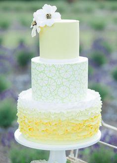 Lemon & Lavender Wedding Shoot ft. #DonnaMorgan bridesmaid dresses in Lemonade-- now on FINAL SALE!//  Tiffany Joyce Photography #fashion #bridal