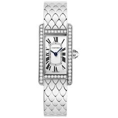 Now $26,880 - Shop this and similar Cartier watches - 18K white gold rhodium-finish case with a 18K white gold rhodium-finish bracelet. Fixed set with diamond b...