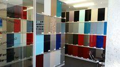 A Splash of Glass #perth #glass #splashback colour showroom in Wangara.  Www.asplashofglass.com.au