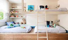 Muchas familias numerosas encuentran dificultades a la hora de encontrar un piso con un número de dormitorios adecuado a sus necesidades.