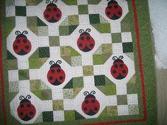 ladybug quilt