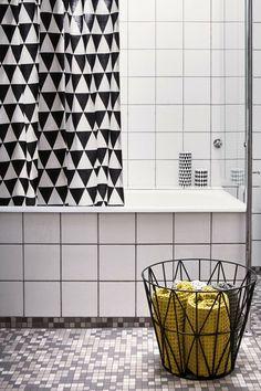 Ferm Living Triangle Shower Curtain