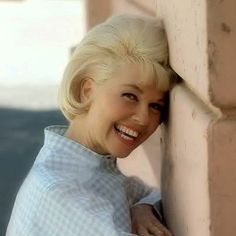 "Doris Day, ""great smile"""