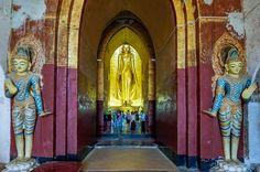 Arnanda temple, Bagan, Myanmar.