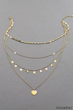Fancy Jewellery, Stylish Jewelry, Cute Jewelry, Silver Jewelry, Jewelry Accessories, Jewelry Necklaces, Jewelry Design, Women Jewelry, Layering Necklaces