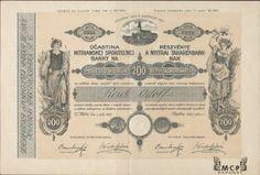 Muzeum cennych papiru A1023 Nitranska sporiteľná banka 1922