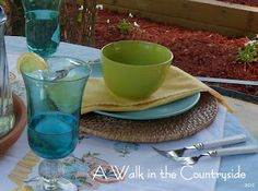 A Walk in the Countryside: Lemonade on the Patio