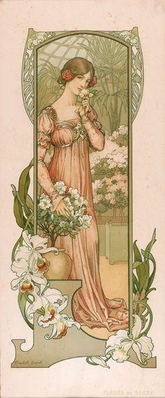 Elisabeth Sonrel : Fleurs de Serre