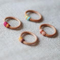 DIY // leather rings