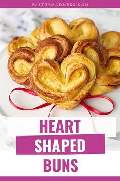 These sweet and tender pastries are perfect for a romantic breakfast. They also make a great Valentine's Day gift that is made with love. Baking Recipes, Snack Recipes, Romantic Breakfast, Pastries, Heart Shapes, Madness, Sweet, Gift, Cooking Recipes