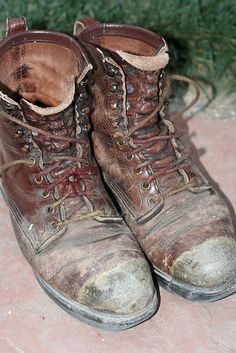 old boots ~ long stories many paths