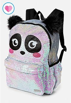 Justice is your one-stop-shop for on-trend styles in tween girls clothing & accessories. Shop our Panda Flip Sequin Backpack. Cute Mini Backpacks, Backpacks For Sale, Girl Backpacks, School Backpacks, Justice School Supplies, Justice Backpacks, Justice Bags, Justice Store, Diaper Bag