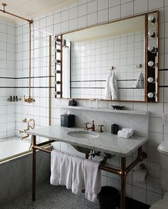 New post up on #Nalieli.com! The Ludlow Hotel photo diary featuring this too good to be true bathroom. #nalieliinterior