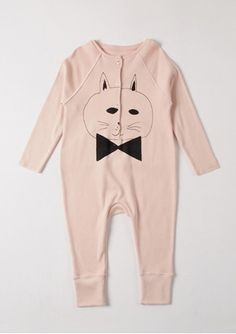 Can I have this in my size?   pink jumpsuit with printed cat from Pink Olive - $78.00