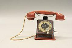 Telephone Bank, Telephone, Germany circa 1940