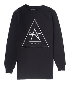 Anti Och Triangle Longline Sweat