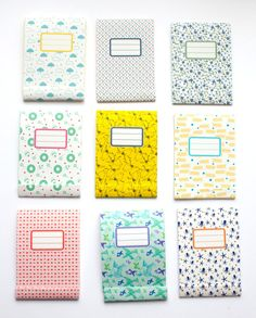 Matchbook notepad  Custom notepad  Memo pad  by vertceriseshop