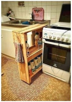 Stunning Diy Kitchen Storage Solutions For Small Space And Space Saving Ideas No 34 (Stunning Diy Kitchen Storage Solutions For Small Space And Space Saving Ideas No design ideas and photos Kitchen Storage Solutions, Diy Kitchen Storage, Diy Kitchen Decor, Diy Pallet Kitchen Ideas, Pallet Pantry, Pallet Storage, Kitchen Decorations, Decorating Kitchen, Wood Storage