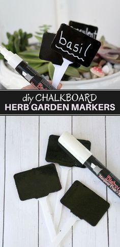 DIY Herb Garden Mark