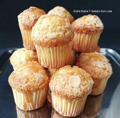 Cooking Tips, Cooking Recipes, Cupcakes, Mini Cakes, Sweet Recipes, Muffins, Bakery, Food And Drink, Sweets