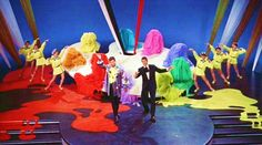 Jerry Lewis and Dean Martin in 'Artists and Models'