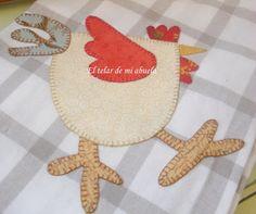 El telar de mi abuela ♥: gallina
