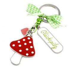 Einen kleinen Glücksbringer kann man immer brauchen und jemandem der einen lieb ist verschenken! Personalized Items, Color, Mushrooms, Colour, Colors