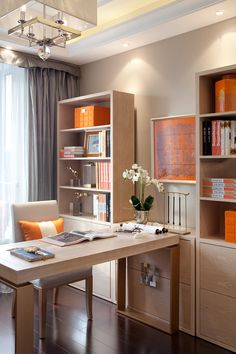masculine library in the home of ramon garcia juardo and paco pocovi