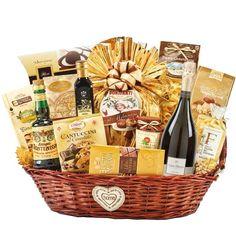 Panettone, Sekt, Handwerker Pasta mit Steinpilzen und viele andere Produkte der enogastronomischen Made in Italy