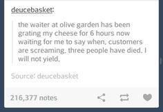 oh Olive Garden
