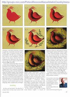 Drawing Templates, Painted Books, Art Tutorials, Art Inspo, Folk Art, Christmas Diy, Birds, Dyi Crafts, Album