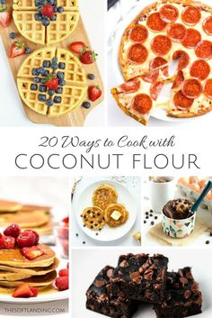 We're undertaking an allergy elimination diet so we've been experimenting with different grain-free flours and found 20 new ways to cook with coconut flour.