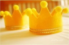 【ハーフバースデーの王冠】フェルトでの作り方① | ハーフバースデーの飾りアイディア集!